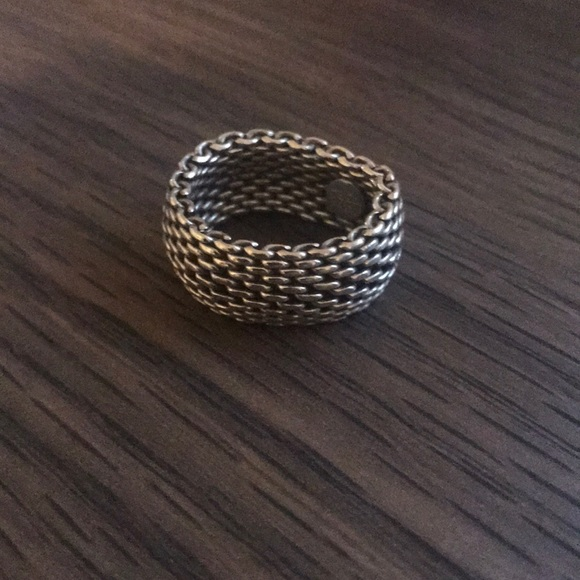 Tiffany & Co. Jewelry - Tiffany's Mesh Ring